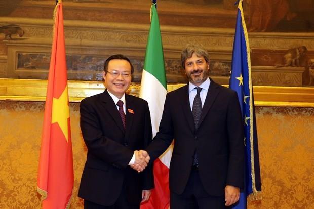 Vietnam e Italia profundizan asociacion estrategica hinh anh 1