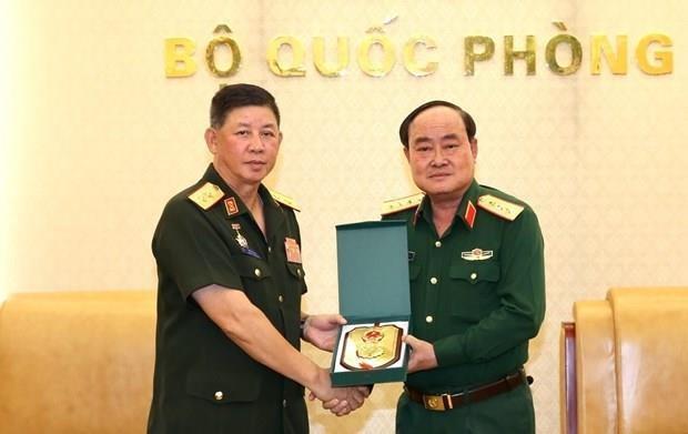 Mejoran Vietnam y Laos la cooperacion en logistica militar hinh anh 1