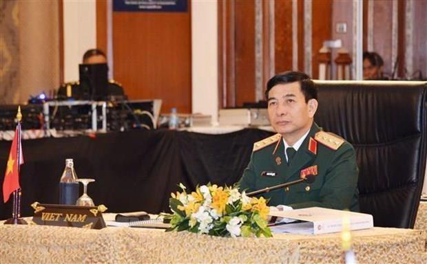 Vietnam y Myanmar promueven colaboracion militar hinh anh 1
