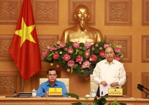 Destaca primer ministro de Vietnam a la clase obrera como llave de renovacion nacional hinh anh 1