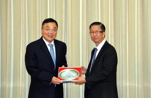 Intensifican cooperacion Ciudad Ho Chi Minh y provincia china de Jiangsu hinh anh 1