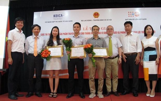 Prepara Vietnam publicidad por Mes de Accion por la Igualdad de Genero hinh anh 1