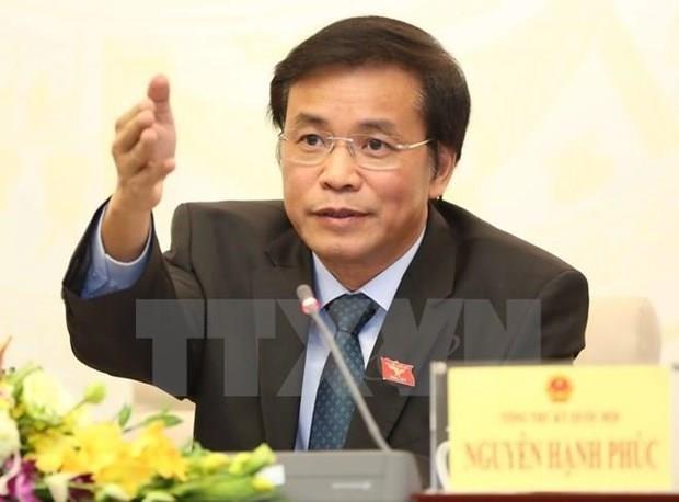 Oficina del Parlamento vietnamita aclara informacion sobre nueve personas que permanecen ilegalmente en Corea del Sur hinh anh 1