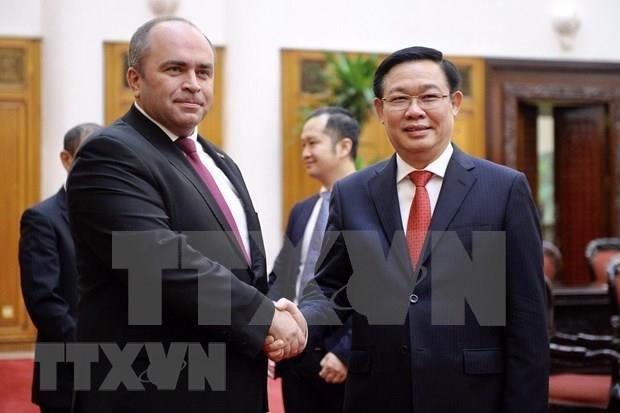 Vietnam y Belarus buscan formas para forjar lazos economicos hinh anh 1