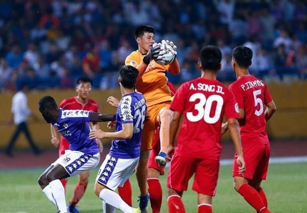 Empatan clubes de Vietnam y Corea del Norte en Copa Asiatica de Futbol hinh anh 1
