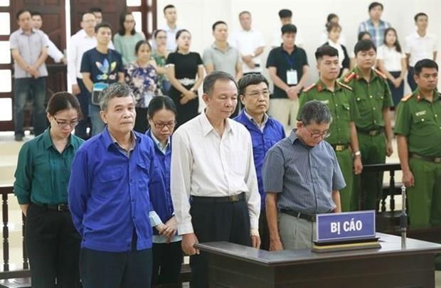 Condenan a exdirectivos de Seguro Social de Vietnam hinh anh 1