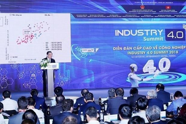 Efectuaran en Vietnam Foro y Exposicion Internacional sobre Industria 4.0 hinh anh 1
