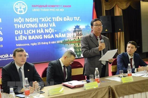 Fomentan lazos comerciales entre Vietnam y Rusia hinh anh 1