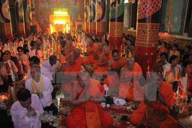 Celebra en Vietnam la comunidad Khmer el Festival Sene Dolta hinh anh 1