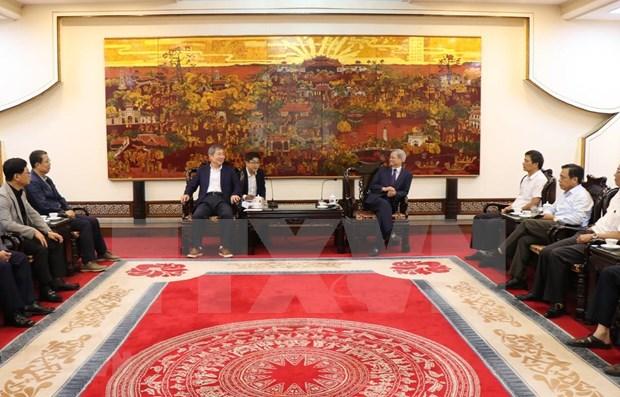 Amplian oportunidades de cooperacion empresarial entre localidades vietnamita y sudcoreana hinh anh 1