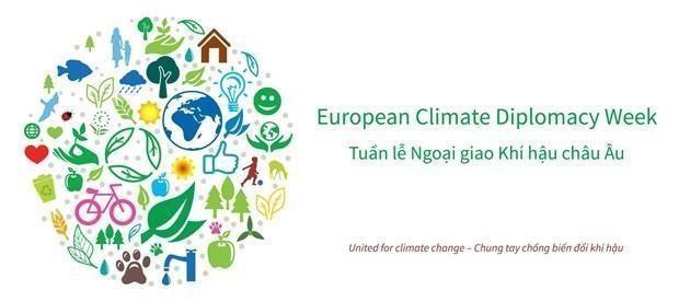 Comienza en Vietnam Semana Europea de Diplomacia Climatica 2019 hinh anh 1