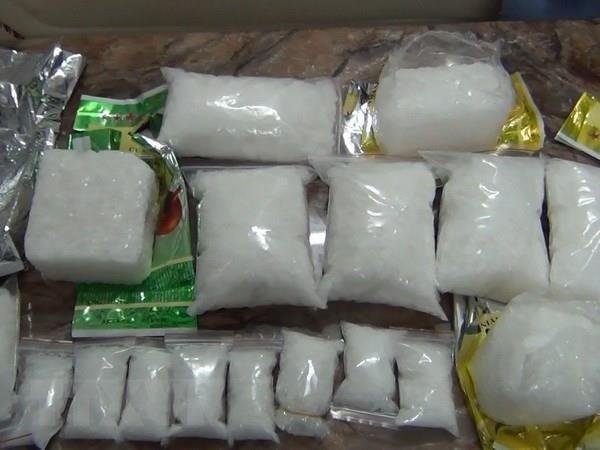 Incautan en Tailandia mas de 300 kilogramos de metanfetamina hinh anh 1