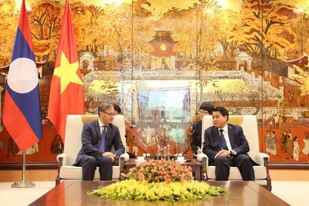 Amplia Hanoi los nexos con localidades laosianas hinh anh 1