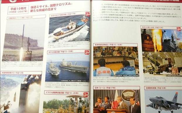 Libro Blanco sobre Defensa de Japon expresa preocupacion por acciones de China en Mar del Este hinh anh 1