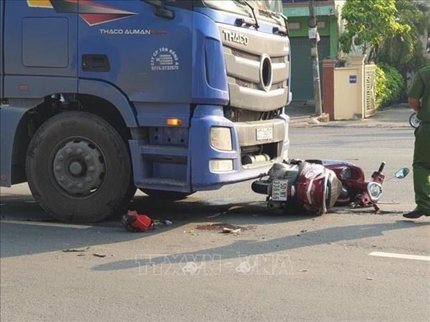 Disminuye en Vietnam la cantidad de accidentes de trafico en primeros nueve meses de 2019 hinh anh 1