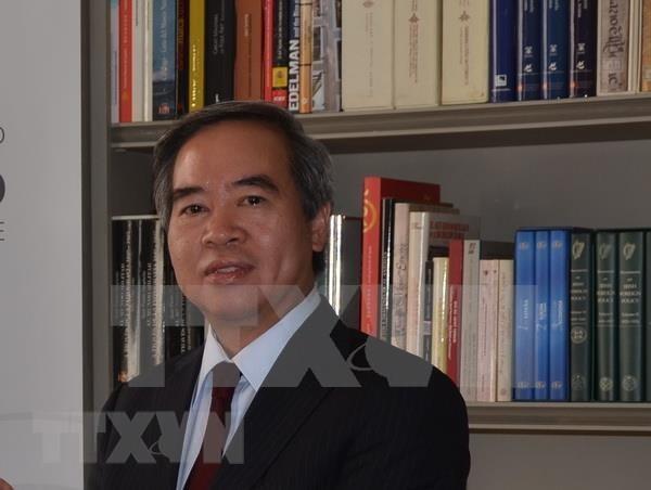 Abogan altos funcionarios de la UE por fortalecer relaciones con Vietnam hinh anh 1