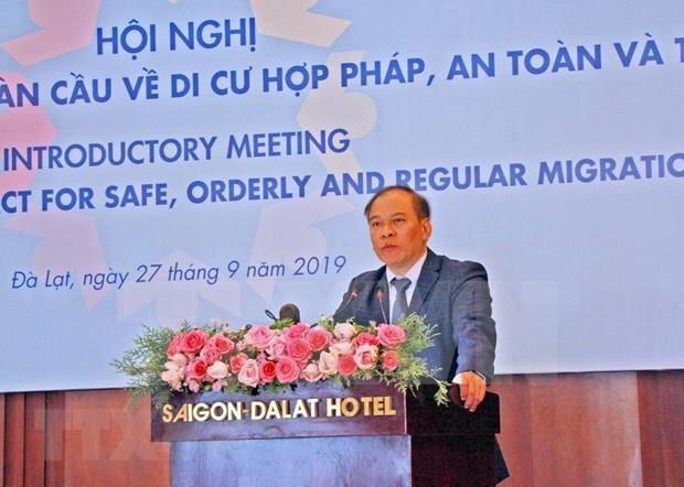 Trabaja Vietnam activamente a favor de una migracion segura, ordenada y regular hinh anh 1