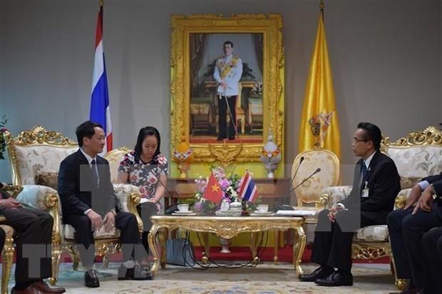 Vietnam y Tailandia se proponen ampliar intercambio pueblo a pueblo hinh anh 1