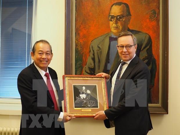 Respalda Finlandia pronta ratificacion de TLC entre Vietnam y la UE hinh anh 1