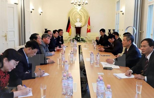 Parlamento de Vietnam por contribuir a lazos con Alemania en sectores potenciales hinh anh 1
