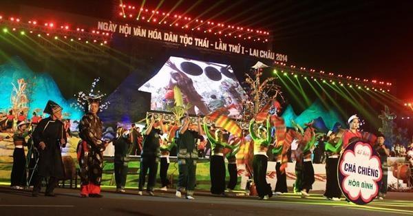 Promocionaran en Vietnam cultura tradicional de la etnia Thai hinh anh 1