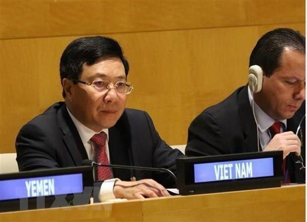 Vietnam aboga por consolidar multilateralismo en el mundo hinh anh 1