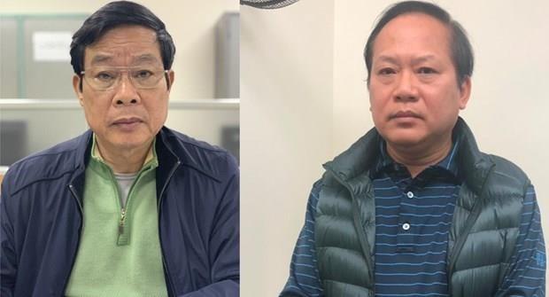 Proponen expulsar de Partido Comunista de Vietnam a dos ex altos funcionarios hinh anh 1