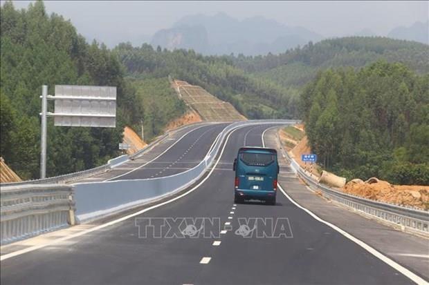 Inauguran carretera Bac Giang-Lang Son hinh anh 1