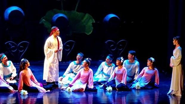 Asistiran ocho paises al IV Festival Internacional de Teatro Experimental en Vietnam hinh anh 1