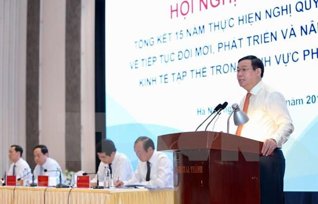 Evalua Vietnam desarrollo de economia colectiva en sector no agricola hinh anh 1