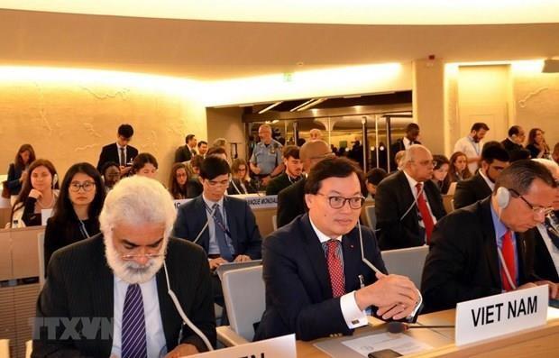 Destacan papel de Vietnam en la presidencia de la Asamblea General de OMPI hinh anh 1