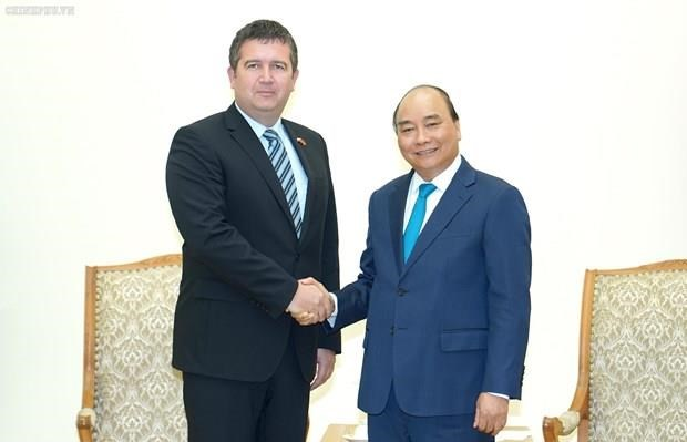 Recibe Primer Ministro de Vietnam al subtitular del Gobierno checo hinh anh 1