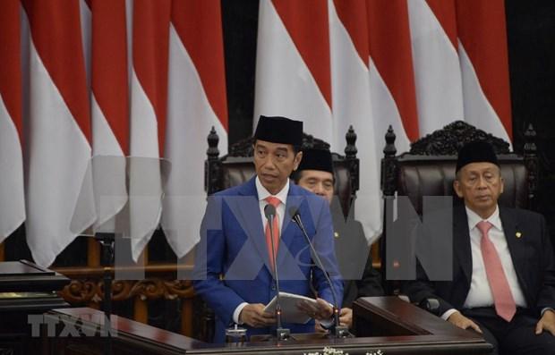 Presta juramento el nuevo Parlamento de Indonesia hinh anh 1