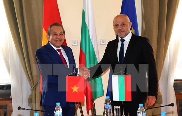 Proyectan Vietnam y Bulgaria incrementar nexos economicos hinh anh 1