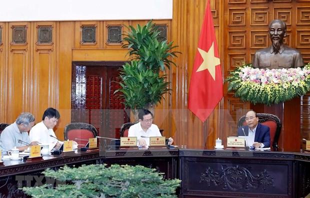 Sesiona reunion del Subcomite de Economia Social en preparacion para el XIII Congreso del PCV hinh anh 1