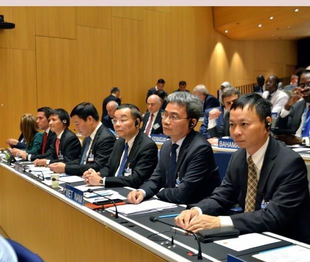 Vietnam asiste al periodo 59 de sesiones de la Asamblea de Estados miembros de la OMPI hinh anh 1