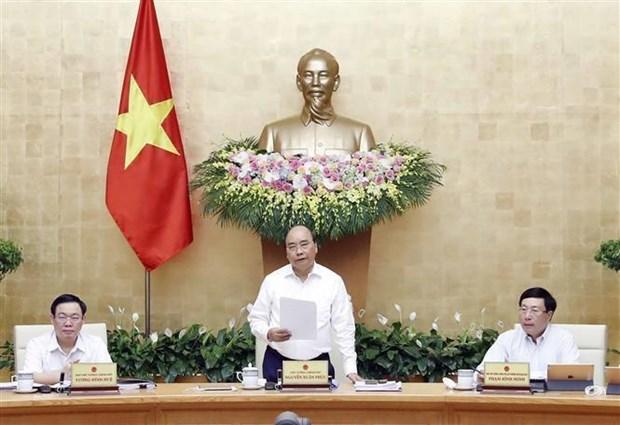 Destaca Gobierno de Vietnam el sobrecumplimiento de las metas trazadas para 2019 hinh anh 1