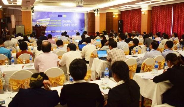 Cooperan en construccion de ciudades inteligentes y sostenibles en Vietnam hinh anh 1