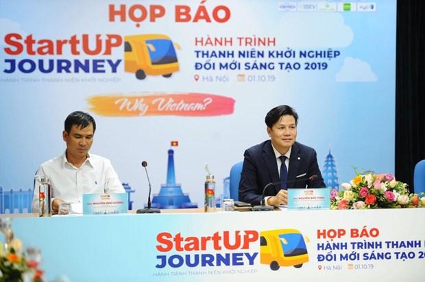 Efectuan en Vietnam programa para respaldar a jovenes emprendedores en nueve provincias hinh anh 1