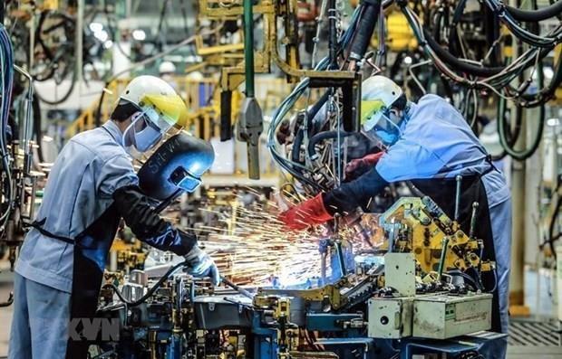 Registra sector industrial de Vietnam crecimiento record en los primeros nueve meses del ano hinh anh 1