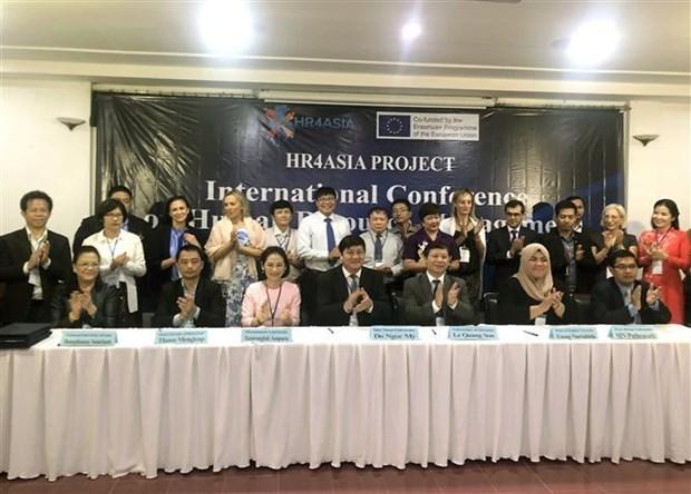 Colaboran universidades del Sudeste de Asia para desarrollo de recursos humanos hinh anh 1