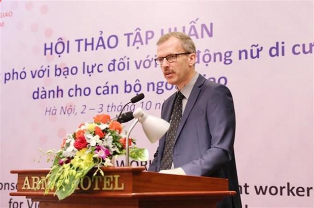 Combate Vietnam la violencia contra mujeres migrantes hinh anh 1