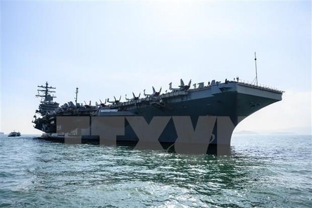 Anuncio Estados Unidos que aplicara ley de libertad de navegacion y sobrevuelo en Mar del Este hinh anh 1