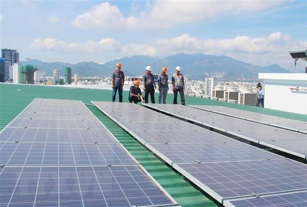 Instalaran en Vietnam primera planta de energia solar flotante a gran escala hinh anh 1