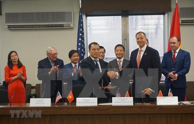 Establecen Vietnam y Estados Unidos asociacion de cooperacion integral en energia hinh anh 1