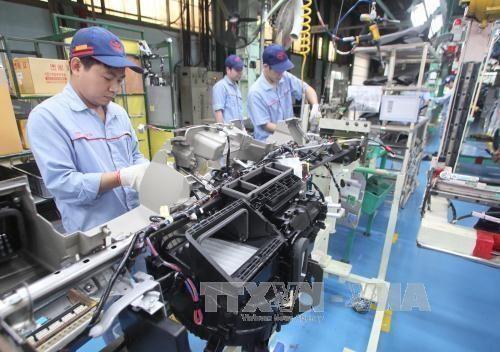 Industria auxiliar de la provincia vietnamita de Vinh Phuc experimenta avance significativo hinh anh 1