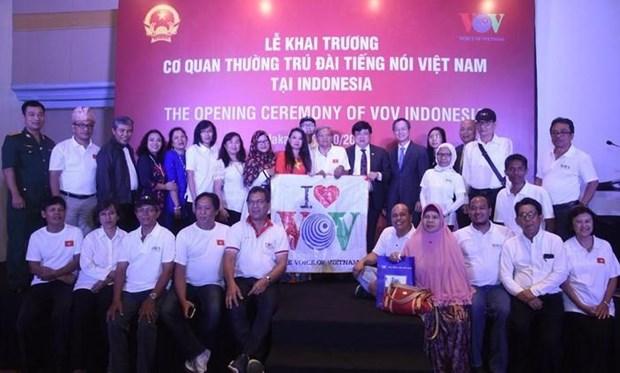 Inauguran en Indonesia corresponsalia de radioemisora Voz de Vietnam hinh anh 1