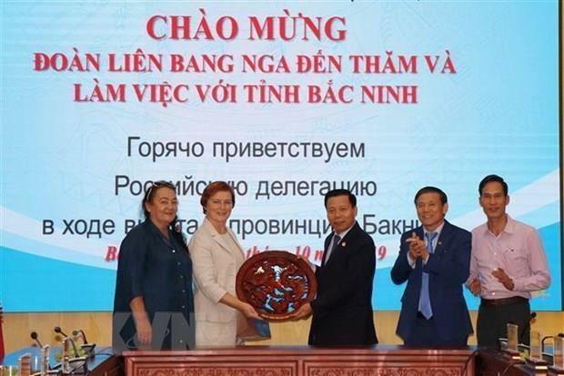 Impulsa provincia vietnamita cooperacion con empresarios rusos hinh anh 1