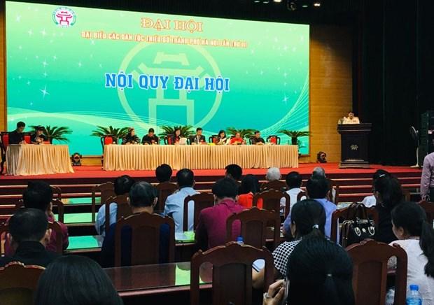 Inauguran Congreso de Etnias Minoritarias en Hanoi 2019 hinh anh 1