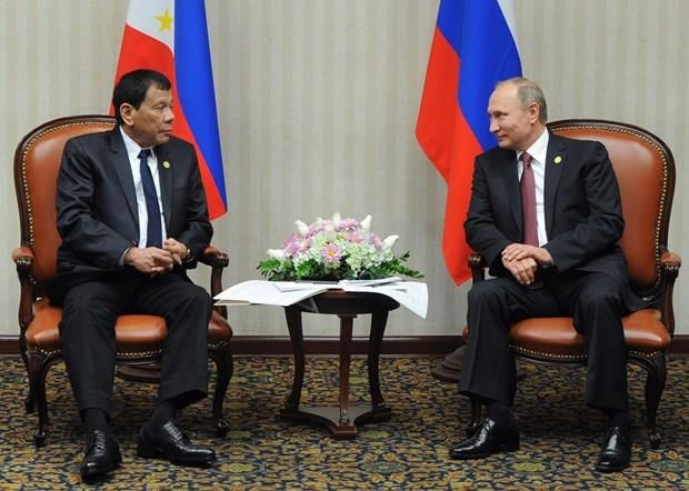 Visita Rusia el presidente de Filipinas hinh anh 1
